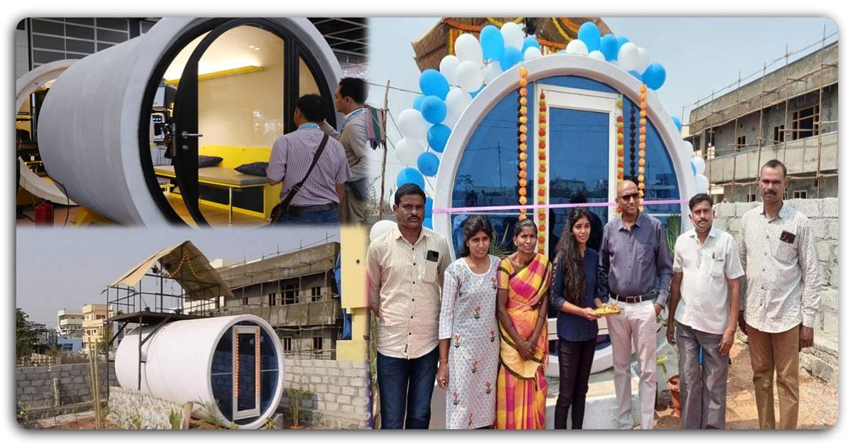 આપણા ભારત દેશની એક છોકરીએ ગટરની પાઈપમાં બનાવ્યું એક અદ્દભુત ઘર, તમે વિચારી પણ નહિ શકો કે તેને કઈ રીતે આ બનાવ્યું હશે…તમે પણ તે જોતા જ રહી જશો…
