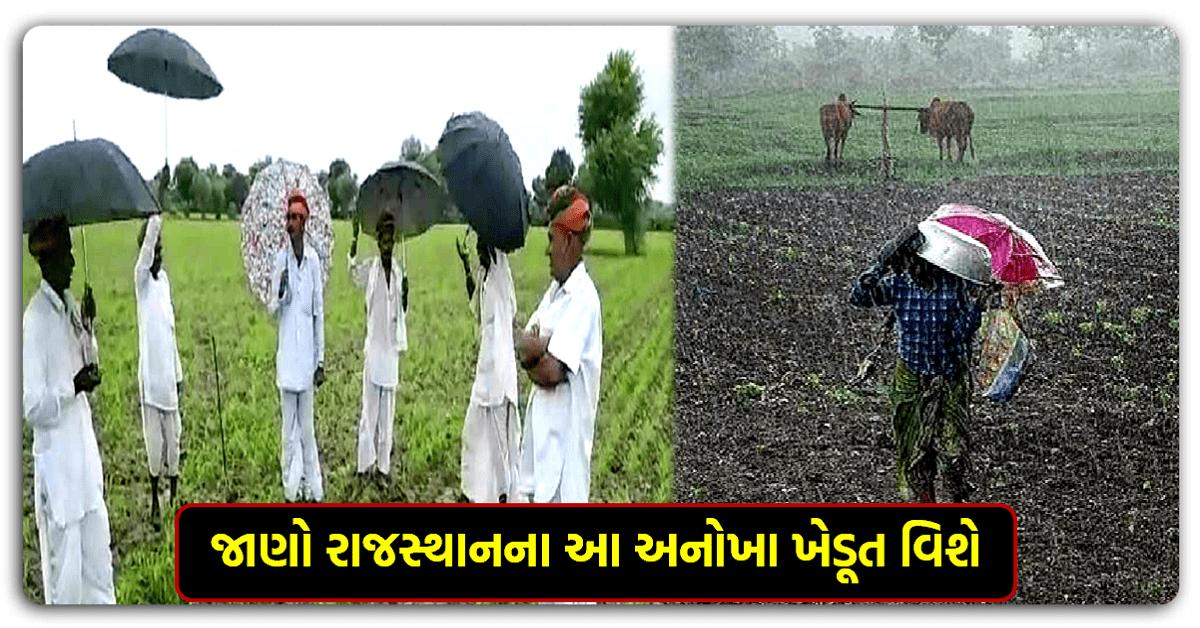 રાજસ્થાનનું એક અનોખું ગામ, જ્યાં ખેડૂતોના ગીત ગાવાથી વરસાદ ચાલુ થઇ જાય છે…જાણો આ ગામનું રહસ્ય શું છે…